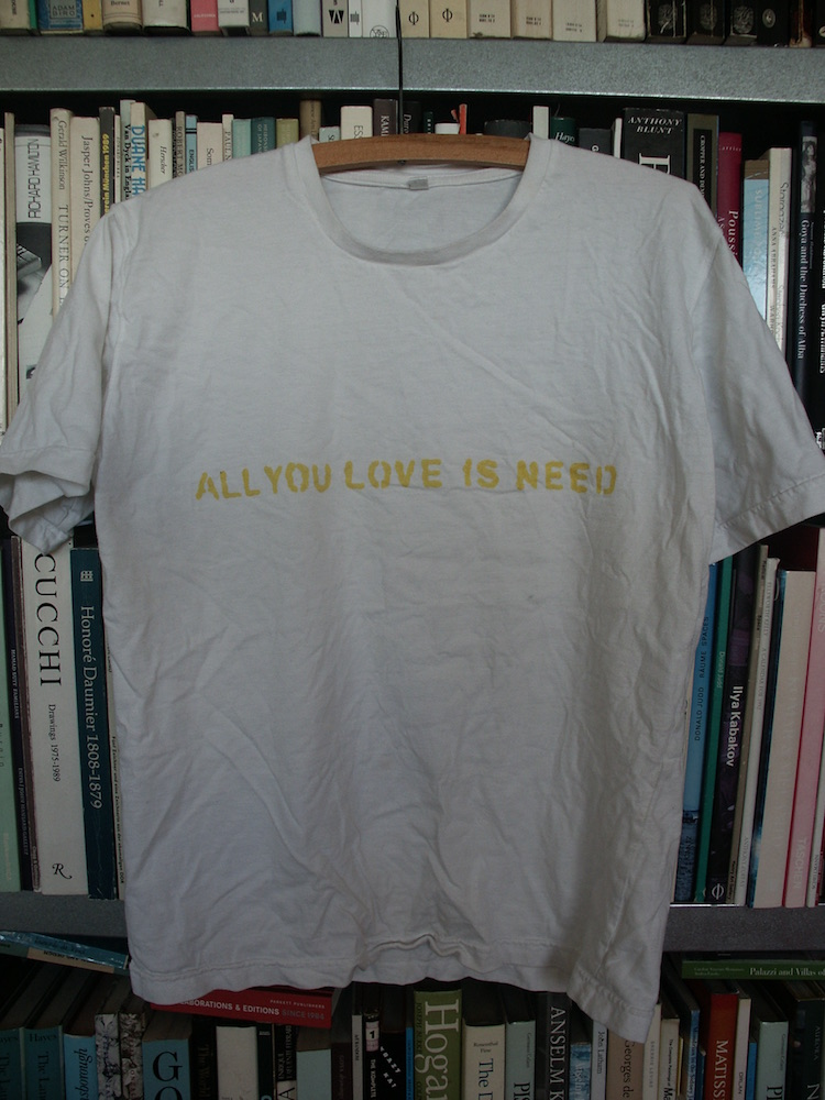 Adoration all you love is need keran james for T shirt printing and distribution